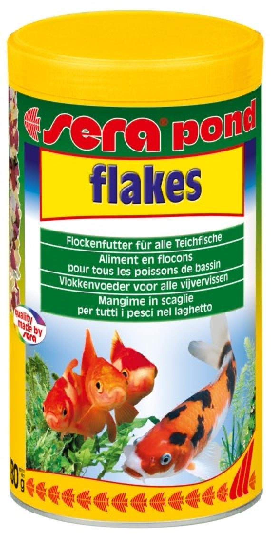 Pond bioflakes 1000мл. хлопьевидный корм дпрудовых рыб. (180г) 13