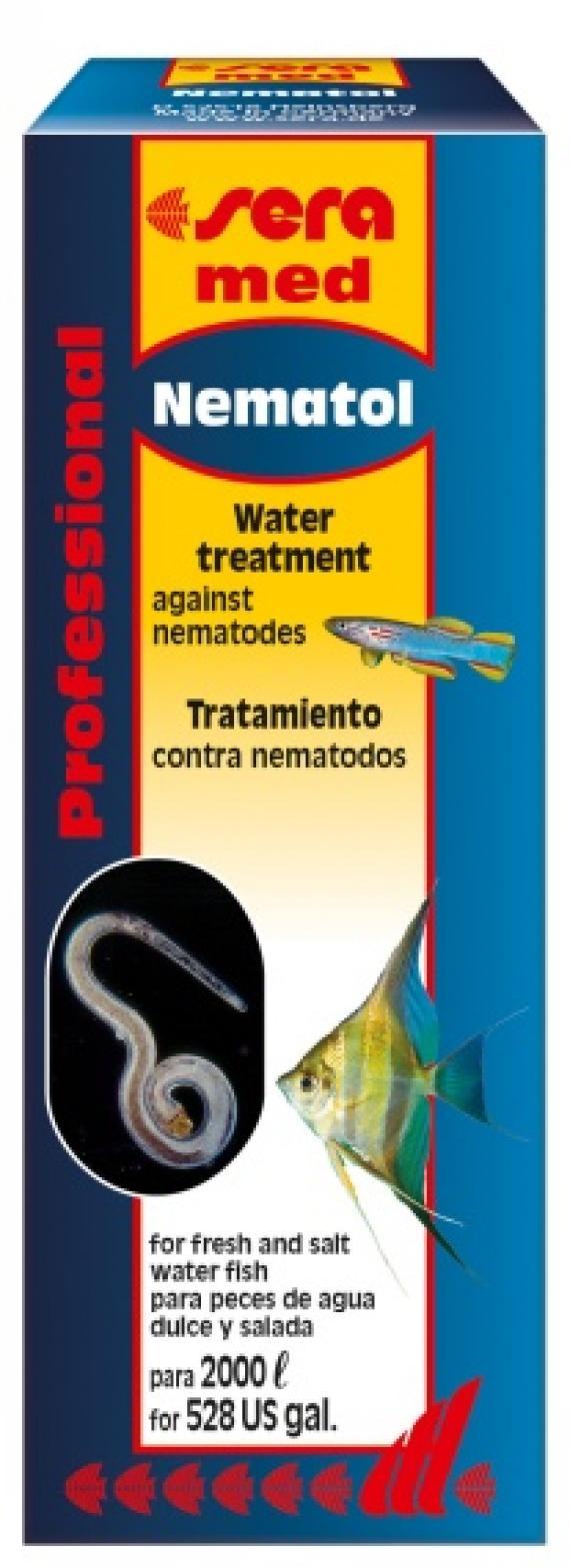 Сера 2204 Nematol Средство д/аквариумной воды 50мл, 82061