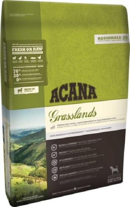 Acana Regionals корм для взрослых собак всех пород, беззерновой, ягненок 11,4 кг, 1001001