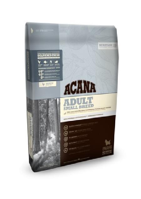 Acana Heritage корм для взрослых собак малых пород, беззерновой, цыпленок 2 кг