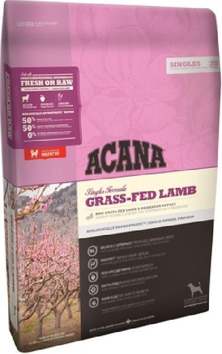 Acana Singles корм для взрослых собак всех пород, беззерновой, ягненок 2 кг, 24001001