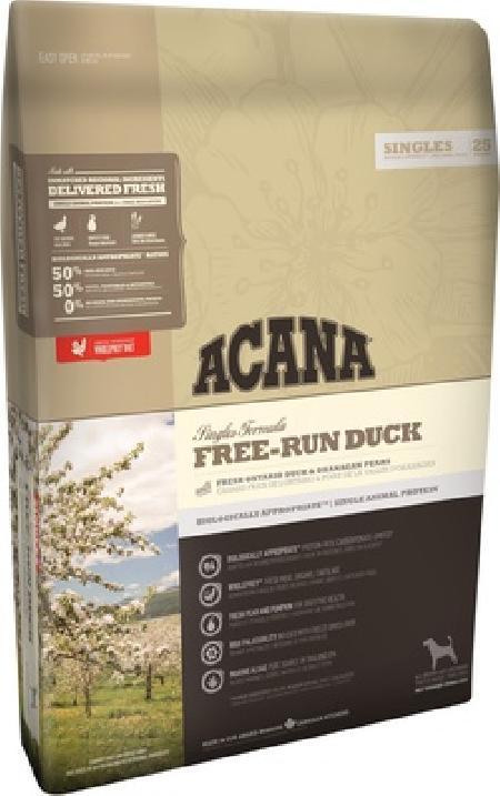 Acana Singles корм для взрослых собак всех пород, беззерновой, утка 2 кг, 25001001