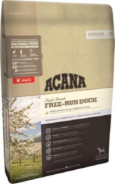 Acana Singles корм для взрослых собак всех пород, беззерновой, утка 6 кг, 41001001
