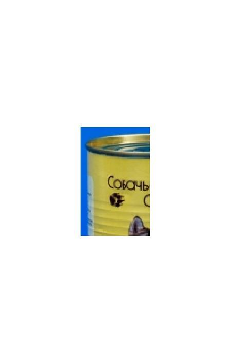 Собачье счастье кон.длЯ собак обак Птичьи потрошки с рисом 410г