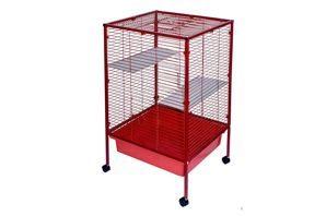 Redplastic Клетка для хорьков, 2 этажа, выдвижной поддон,55*61*93см (разборная), в коробке, RP4432