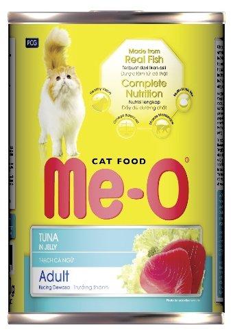 Ме-О влажный корм для взрослых кошек всех пород, тунец 400 гр