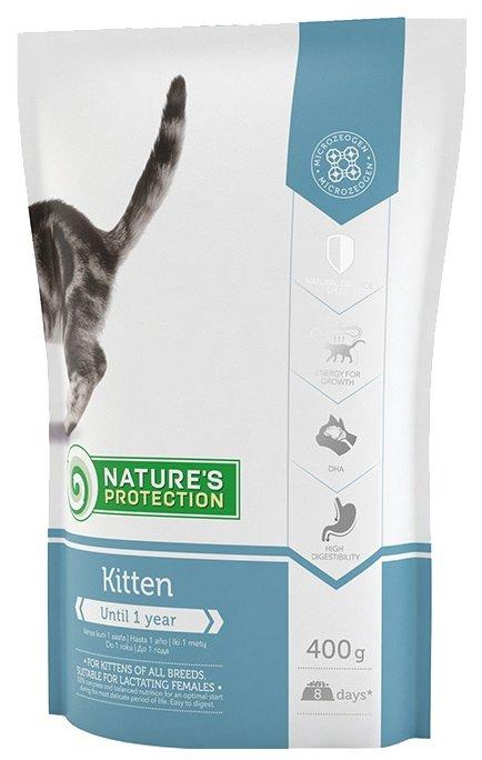 Nature's Protection влажный корм для котят и кормящих кошек всех пород, индейка и кролик 100 гр