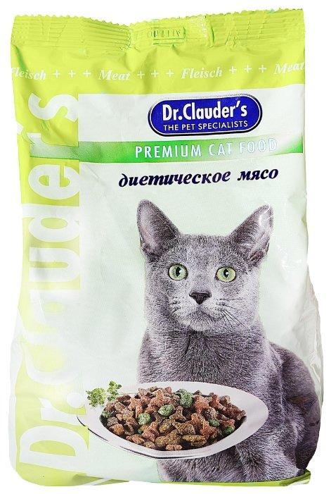 Dr. Clauders корм для взрослых кошек всех пород, диетическое мясо 400 гр