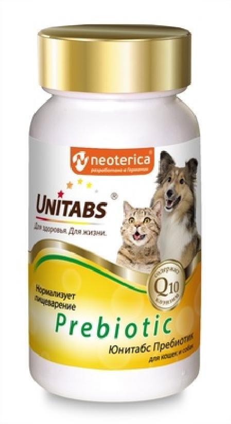 Unitabs кормовая добавка для кошек и собак всех пород, улучшение процессов пищеварения 100 таб