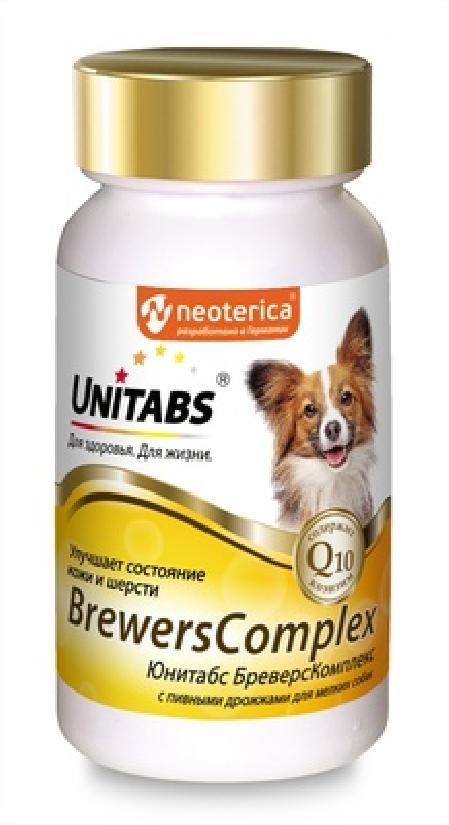 Unitabs BrewersComplex витаминно-минеральный комплекс для собак малых пород 100 таб