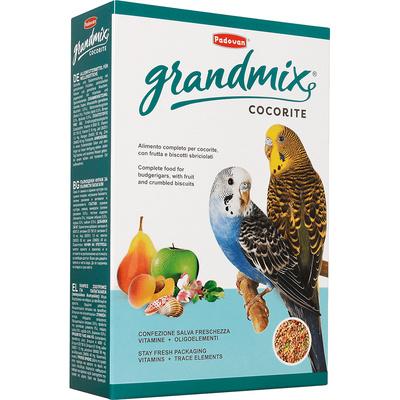 Padovan Корм для волнистых попугаев (Grandmix Cocorite) PP00276, 0,400 кг
