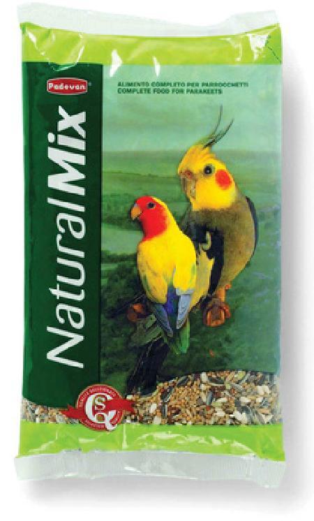 Padovan Корм для средних попугаев (Naturalmix Parrocchetti) PP00128, 0,850 кг