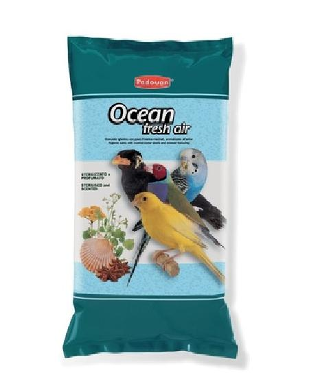 Padovan Био-песок для декоративных птиц (OCEAN fresh air) 003/PP00076, 1,000 кг
