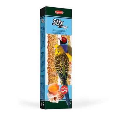 Падован 01432 Палочки дволнистых попугаев и экзотических птиц повышение энергичности 60г*2шт