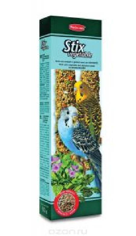 Padovan Stix Vegetable палочки овощные лакомство для мелких попугаев 80 гр