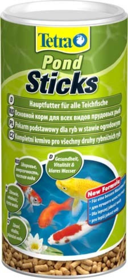 Корм для прудовых рыб Tetra Pond Sticks 1 л, палочки