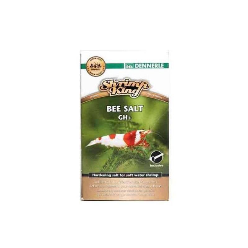 [281.6127]  Dennerle Shrimp King Bee Salt GH+ 200 - Соль для повышения KH воды в акв. с креветками, 200 г, 281.6127