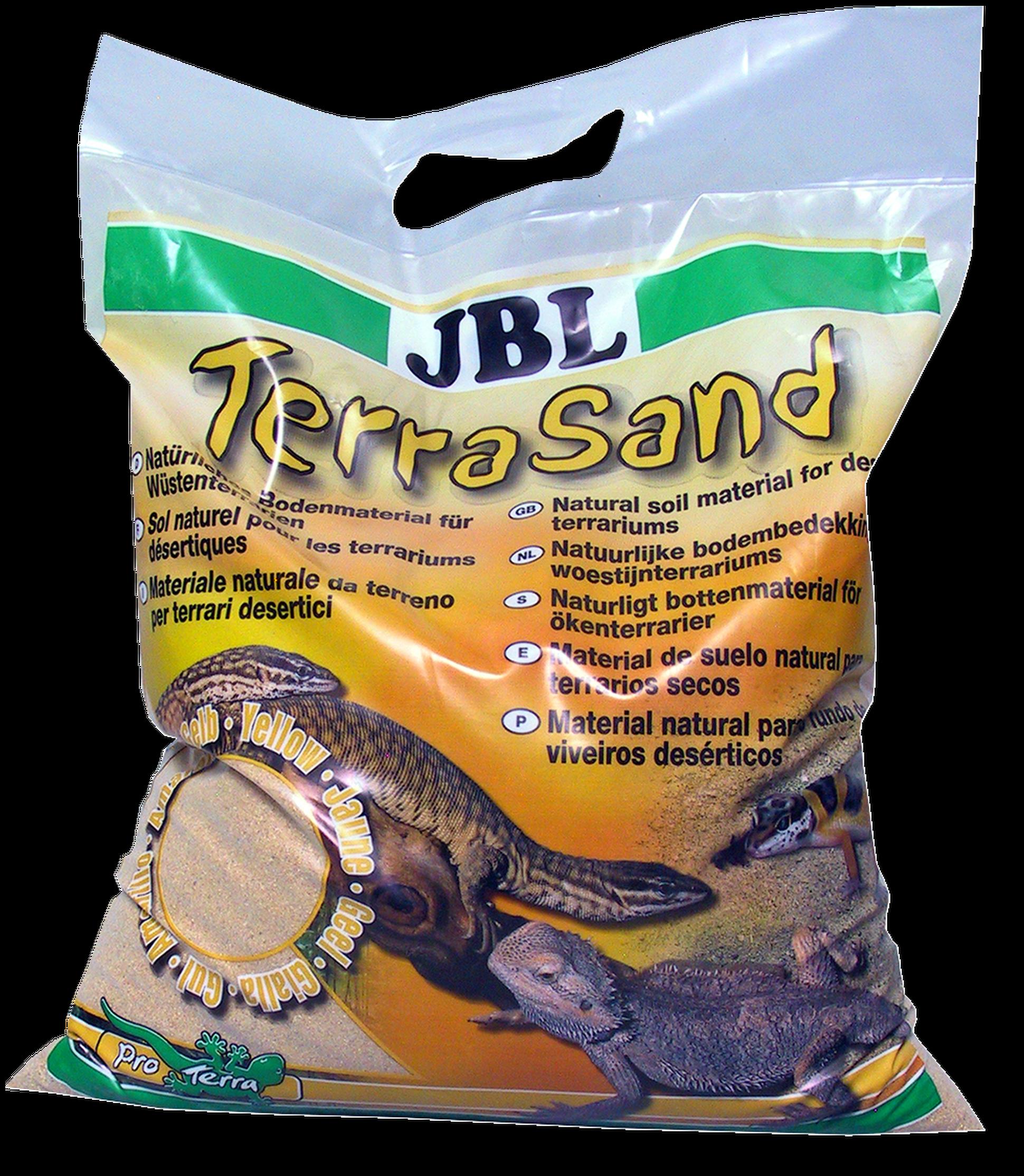 [282.7101800]  JBL TerraSand natural yellow - Донный грунт для пустынных террариумов желтый 7,5 кг