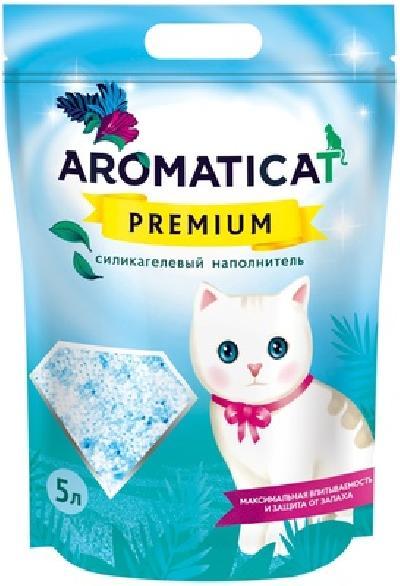 AromatiCat Силикагелевый наполнитель Premium, 10л, 4,000 кг