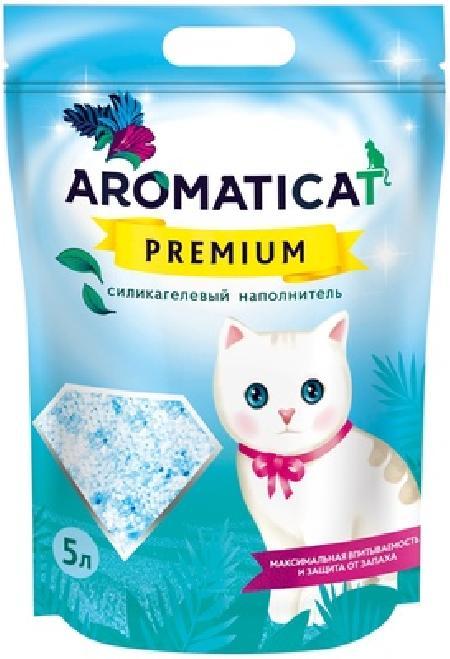 AromatiCat Силикагелевый наполнитель Premium, 5л, 2,000 кг