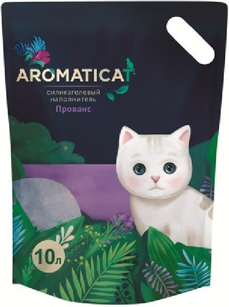 AromatiCat Силикагелевый наполнитель Прованс, 10л, 4,300 кг
