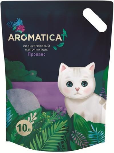 AromatiCat Силикагелевый наполнитель Прованс, 3л, 1,250 кг