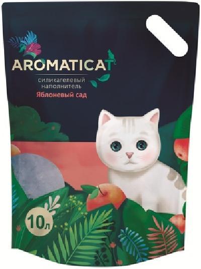 AromatiCat Силикагелевый наполнитель Яблоневый сад, 5л, 2,080 кг