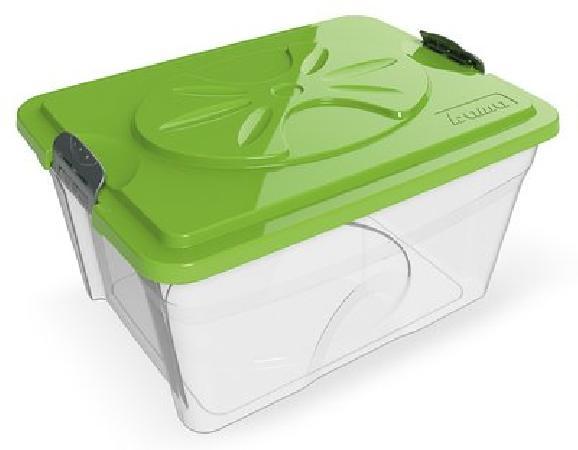 BAMA PET контейнер для хранения корма SIM BOX 18л 40x30x22h см, прозрачный, 10231