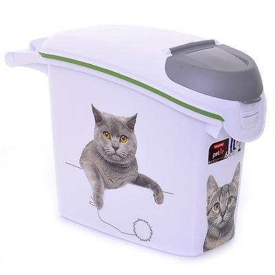 Curver PetLife Контейнер для корма Сладкие котятана 6кг/15л, 23*50*36см (201782/241105), 1,035 кг, 20232