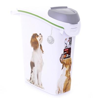 Curver PetLife Контейнер для корма Собачьи новости на 10кг/23л, 23*50*50см (197927/241097), 1,210 кг, 18593