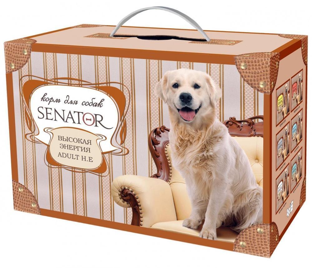 Senator корм для собак Высокая Энергия Курица 3кг, ZR0476