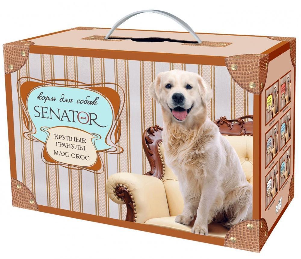 Senator корм для собак Крупные Гранулы Курица 3кг, ZR0491