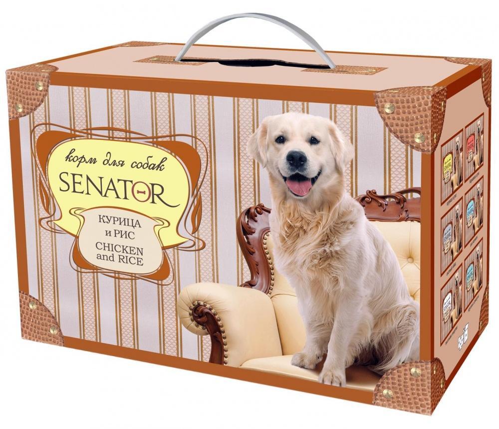 Senator корм для собак Курица 3кг, ZR0470