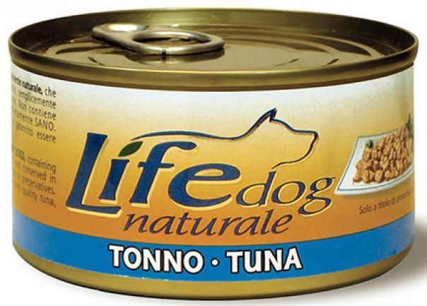 Lifedog tuna Деликатес для собак Тунец в желе банка 170гр 124
