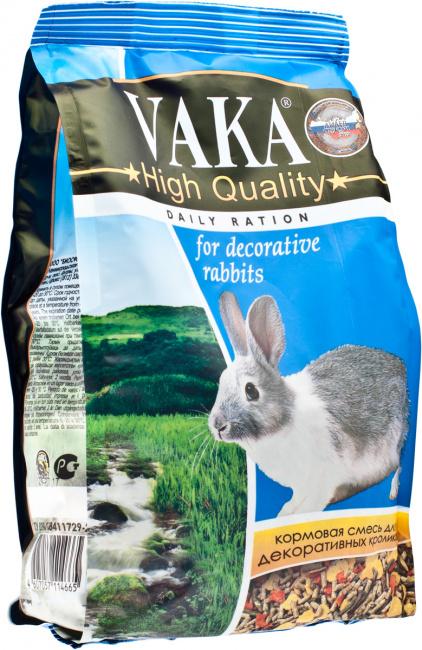 ВАКА High Quality корм для декоративных кроликов 1кг. (18)