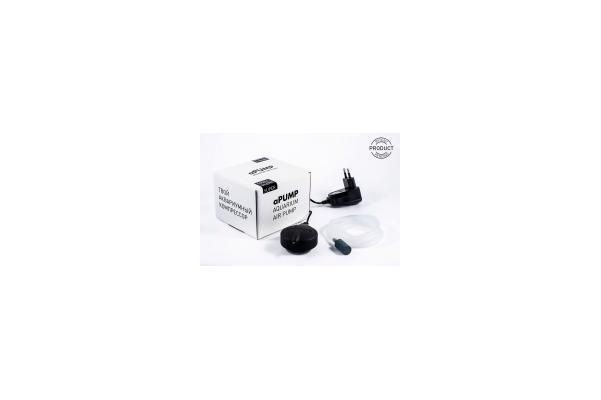 Компрессор аквариумный бесшумный аPUMP (даквариумов 100л)