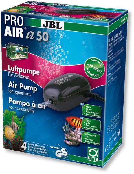 [282.6054600]  JBL ProAir a50 - Компрессор для пресноводных и морских аквариумов 10-50 л 2,3 Вт
