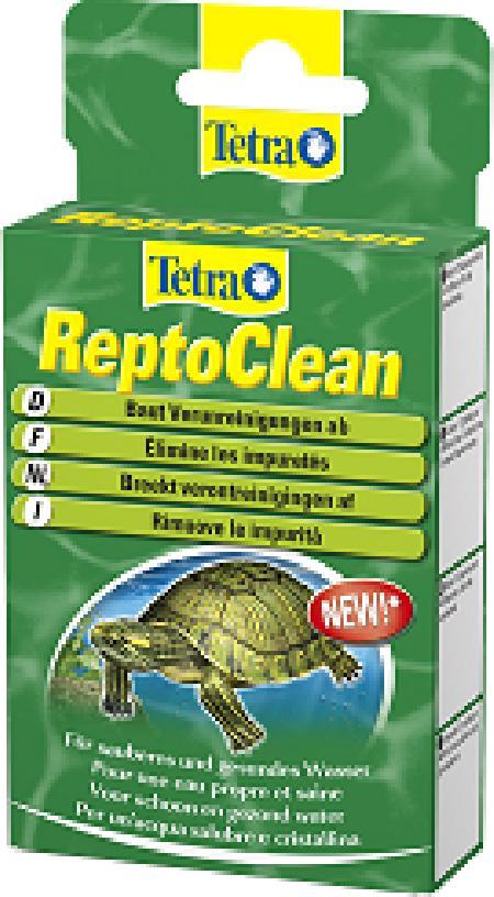 Tetra ReptoClean препарат для биологической очистки воды в террариуме 12 капсул