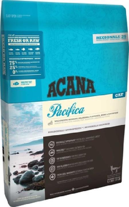Acana корм для кошек всех пород и возрастов, беззерновой, рыба 5,4 кг