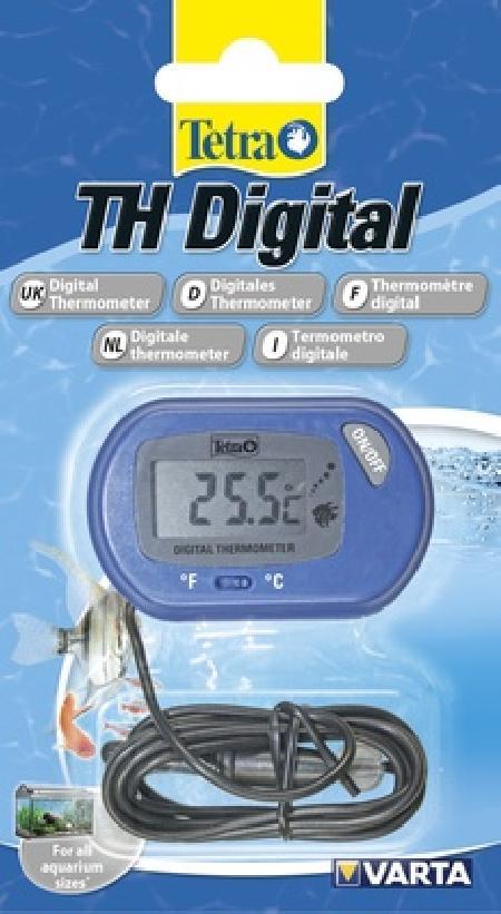 Tetra (оборудование) ВИА Термометр цифровой TH Digital Thermometer  (от -10 до +50 °C) 253469, 0,035 кг