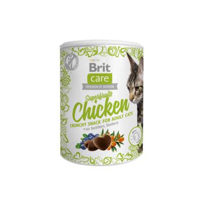 Brit Лакомство для кошек Care с курицей (Superfruits Chicken) 521432, 0,100 кг