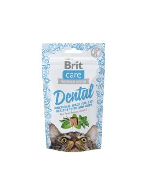 Brit Лакомство для кошек Care для очистки зубов (Dental) 521371, 0,050 кг