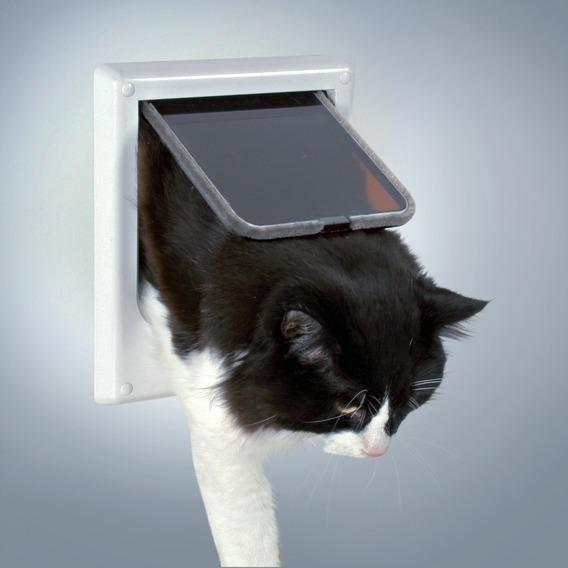3869 Дверца для кошки магнитная (16,5х21,6см)