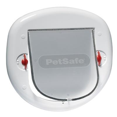PetSafe Дверца StayWell для крупных кошек и мелких собак белая, 0,743 кг
