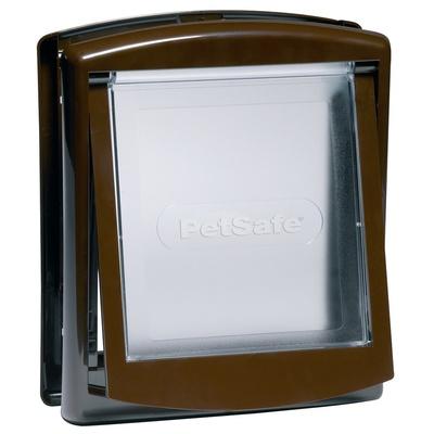 PetSafe Дверца Original 2 Way малая коричневая, 0,494 кг