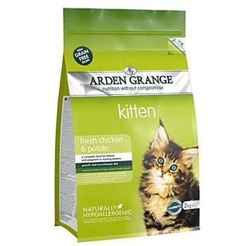 Arden Grange корм для котят всех пород, беззерновой, курица 2 кг