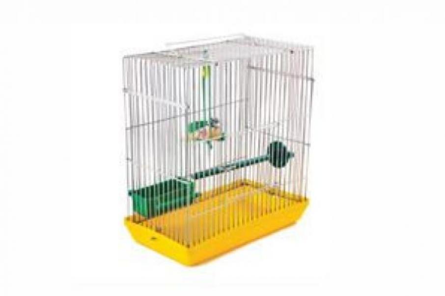 Redplastic Клетка-переноска для птиц Mini-№2, 25см*14см*33см (ТМ Дарэлл), RP4024