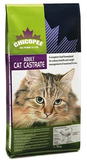 Chicopee корм для взрослых стерилизованных кошек всех пород, с курицей 2 кг
