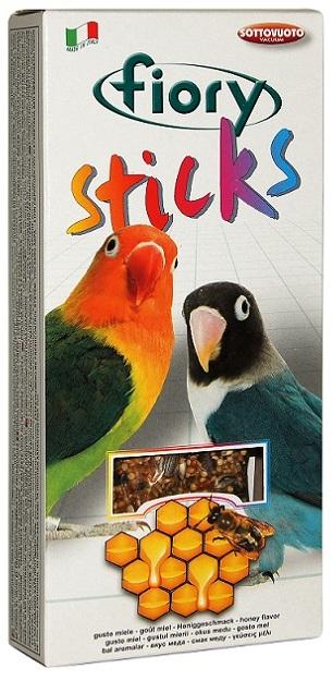 Fiory Sticks палочки для средних попугаев, с медом 120 гр