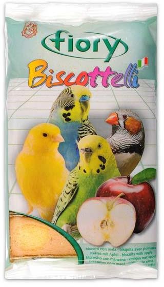 Fiory Biscottelli бисквиты для птиц, с яблоком 35 гр